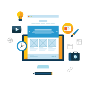 web UX and UI