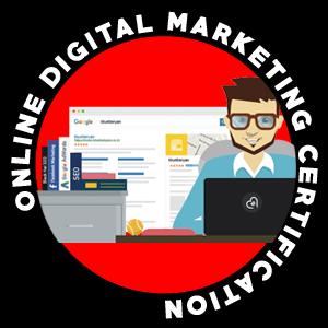 online digital marketing certification