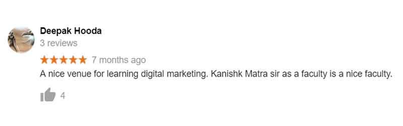 Deepak review